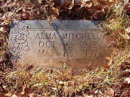 MITCHELL, ALMA - Ouachita County, Arkansas | ALMA MITCHELL - Arkansas Gravestone Photos