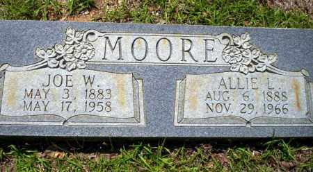 MOORE, ALLIE L - Ouachita County, Arkansas | ALLIE L MOORE - Arkansas Gravestone Photos