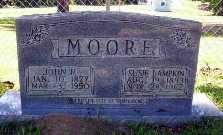 MOORE, JOHN H. - Ouachita County, Arkansas | JOHN H. MOORE - Arkansas Gravestone Photos