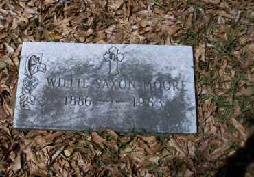 MOORE, WILLIE SAXON - Ouachita County, Arkansas | WILLIE SAXON MOORE - Arkansas Gravestone Photos