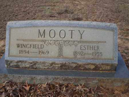 MOOTY, WINGFIELD - Ouachita County, Arkansas | WINGFIELD MOOTY - Arkansas Gravestone Photos