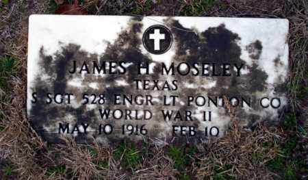 MOSELEY  (VETERAN WWII), JAMES H - Ouachita County, Arkansas | JAMES H MOSELEY  (VETERAN WWII) - Arkansas Gravestone Photos