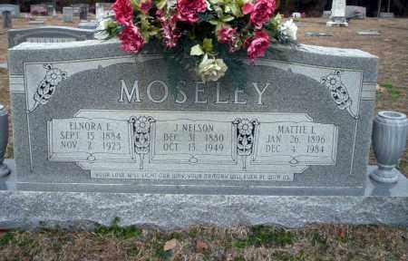 MOSELEY, ELNORA E - Ouachita County, Arkansas | ELNORA E MOSELEY - Arkansas Gravestone Photos