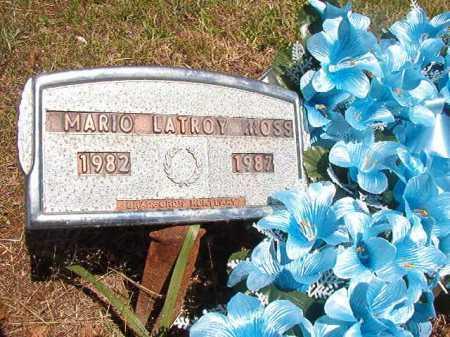 MOSS, MARIO LATROY - Ouachita County, Arkansas | MARIO LATROY MOSS - Arkansas Gravestone Photos