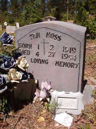 MOSS, TOM - Ouachita County, Arkansas | TOM MOSS - Arkansas Gravestone Photos
