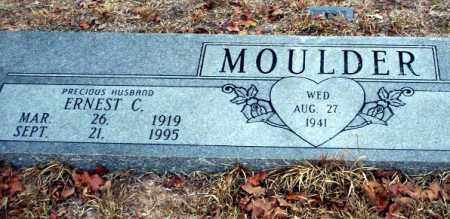 MOULDER, ERNEST C - Ouachita County, Arkansas | ERNEST C MOULDER - Arkansas Gravestone Photos