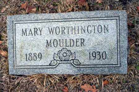 WORTHINGTON MOULDER, MARY - Ouachita County, Arkansas | MARY WORTHINGTON MOULDER - Arkansas Gravestone Photos