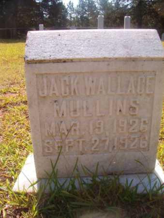 MULLINS, JACK WALLACE - Ouachita County, Arkansas | JACK WALLACE MULLINS - Arkansas Gravestone Photos