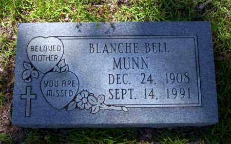 BELL MUNN, BLANCHE - Ouachita County, Arkansas | BLANCHE BELL MUNN - Arkansas Gravestone Photos