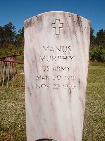 MURPHY (VETERAN), MANUS - Ouachita County, Arkansas | MANUS MURPHY (VETERAN) - Arkansas Gravestone Photos