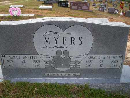 MYERS, SARAH ANNETTE - Ouachita County, Arkansas | SARAH ANNETTE MYERS - Arkansas Gravestone Photos
