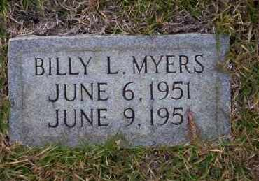 MYERS, BILLY L - Ouachita County, Arkansas | BILLY L MYERS - Arkansas Gravestone Photos