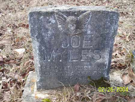 MYLES, JOE - Ouachita County, Arkansas | JOE MYLES - Arkansas Gravestone Photos