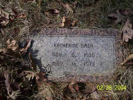NASH, KATHERINE - Ouachita County, Arkansas | KATHERINE NASH - Arkansas Gravestone Photos