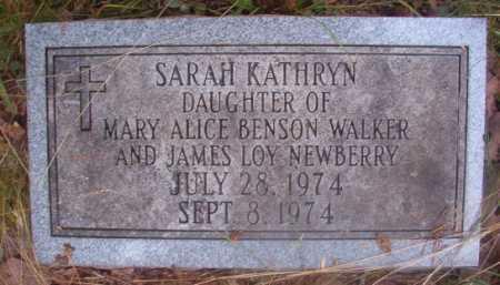 NEWBERRY, SARAH KATHRYN - Ouachita County, Arkansas | SARAH KATHRYN NEWBERRY - Arkansas Gravestone Photos