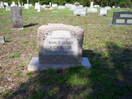 NICHOLSON, MARGIE LILLIAN - Ouachita County, Arkansas | MARGIE LILLIAN NICHOLSON - Arkansas Gravestone Photos