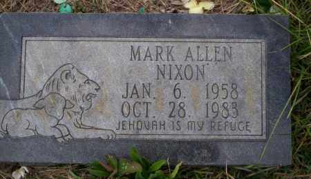 NIXON, MARK ALLEN - Ouachita County, Arkansas | MARK ALLEN NIXON - Arkansas Gravestone Photos