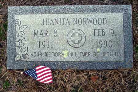 NORWOOD, JUANITA - Ouachita County, Arkansas | JUANITA NORWOOD - Arkansas Gravestone Photos