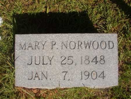 NORWOOD, MARY P - Ouachita County, Arkansas | MARY P NORWOOD - Arkansas Gravestone Photos