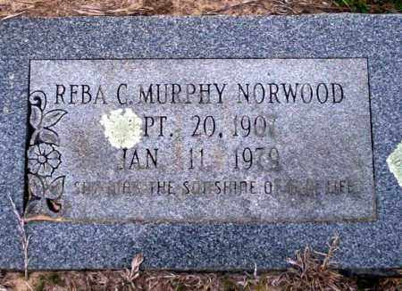 MURPHY NORWOOD, REBA C - Ouachita County, Arkansas | REBA C MURPHY NORWOOD - Arkansas Gravestone Photos