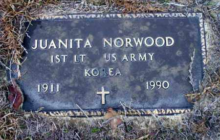 NORWOOD (VETERAN KOR), JUANITA - Ouachita County, Arkansas | JUANITA NORWOOD (VETERAN KOR) - Arkansas Gravestone Photos