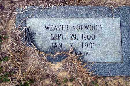 NORWOOD, WEAVER - Ouachita County, Arkansas | WEAVER NORWOOD - Arkansas Gravestone Photos