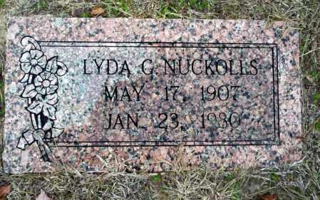 NUCKOLLS, LYDA G - Ouachita County, Arkansas   LYDA G NUCKOLLS - Arkansas Gravestone Photos