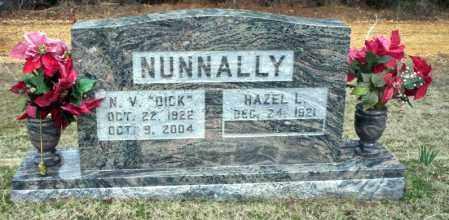 NUNNALLY, N.V. (DICK) - Ouachita County, Arkansas | N.V. (DICK) NUNNALLY - Arkansas Gravestone Photos