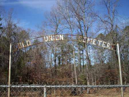 *OLD UNION CEMETERY GATE,  - Ouachita County, Arkansas |  *OLD UNION CEMETERY GATE - Arkansas Gravestone Photos