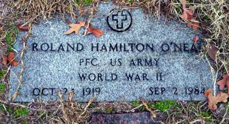 O'NEAL (VETERAN WWII), ROLAND HAMILTON - Ouachita County, Arkansas | ROLAND HAMILTON O'NEAL (VETERAN WWII) - Arkansas Gravestone Photos