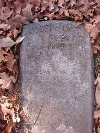 PARKER, JOSEPHINE - Ouachita County, Arkansas | JOSEPHINE PARKER - Arkansas Gravestone Photos
