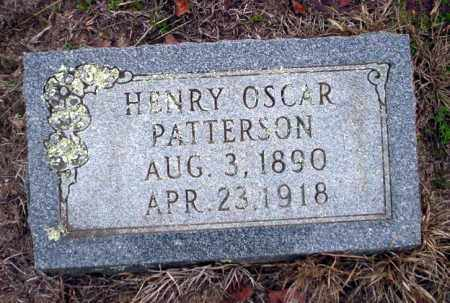 PATTERSON, HENRY OSCAR - Ouachita County, Arkansas   HENRY OSCAR PATTERSON - Arkansas Gravestone Photos