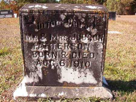PATTERSON, INFANT - Ouachita County, Arkansas | INFANT PATTERSON - Arkansas Gravestone Photos