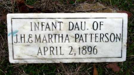 PATTERSON, INFANT DAUGHTER - Ouachita County, Arkansas | INFANT DAUGHTER PATTERSON - Arkansas Gravestone Photos