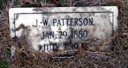 PATTERSON, J.W. - Ouachita County, Arkansas | J.W. PATTERSON - Arkansas Gravestone Photos
