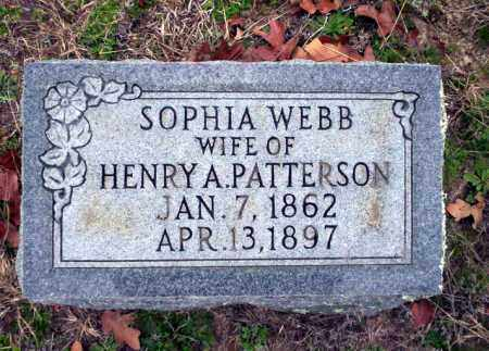 PATTERSON, SOPHIA - Ouachita County, Arkansas | SOPHIA PATTERSON - Arkansas Gravestone Photos