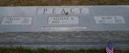 PEACE, ALVIN J - Ouachita County, Arkansas | ALVIN J PEACE - Arkansas Gravestone Photos
