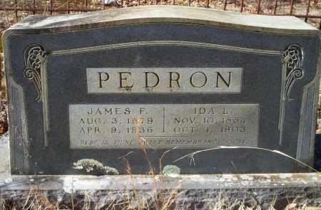 PEDRON, JAMES F - Ouachita County, Arkansas | JAMES F PEDRON - Arkansas Gravestone Photos