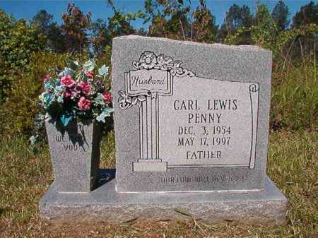 PENNY, CARL LEWIS - Ouachita County, Arkansas | CARL LEWIS PENNY - Arkansas Gravestone Photos