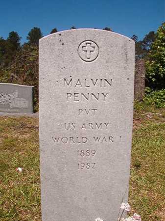 PENNY (VETERAN WWI), MALVIN - Ouachita County, Arkansas | MALVIN PENNY (VETERAN WWI) - Arkansas Gravestone Photos