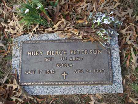 PETERSON  (VETERAN KOR), HUEY PIERCE - Ouachita County, Arkansas | HUEY PIERCE PETERSON  (VETERAN KOR) - Arkansas Gravestone Photos