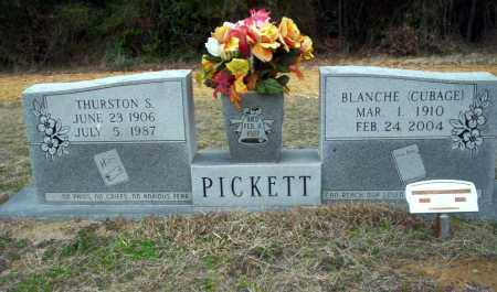 PICKETT, THURSTON S - Ouachita County, Arkansas | THURSTON S PICKETT - Arkansas Gravestone Photos