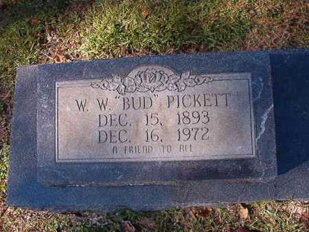 "PICKETT, W.W. ""BUD"" - Ouachita County, Arkansas 