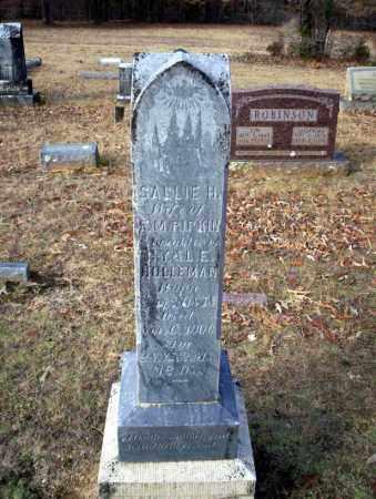 PIPKIN, SALLIE H - Ouachita County, Arkansas | SALLIE H PIPKIN - Arkansas Gravestone Photos