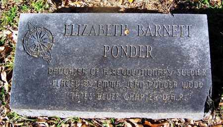 PONDER, ELIZABETH - Ouachita County, Arkansas | ELIZABETH PONDER - Arkansas Gravestone Photos