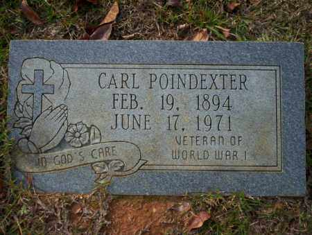 POINDEXTER  (VETERAN WWI ), CARL - Ouachita County, Arkansas | CARL POINDEXTER  (VETERAN WWI ) - Arkansas Gravestone Photos