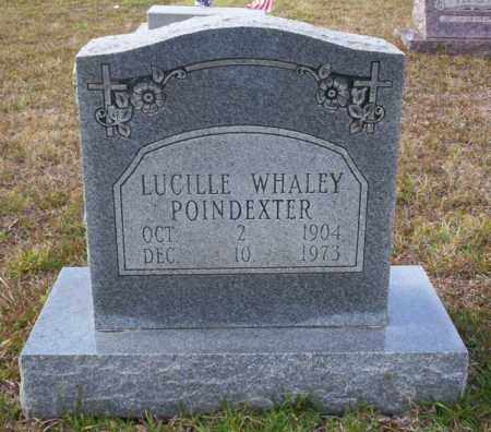 WHALEY POINDEXTER, LUCILLE - Ouachita County, Arkansas | LUCILLE WHALEY POINDEXTER - Arkansas Gravestone Photos