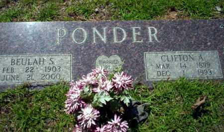 PONDER, CLIFTON A. - Ouachita County, Arkansas | CLIFTON A. PONDER - Arkansas Gravestone Photos