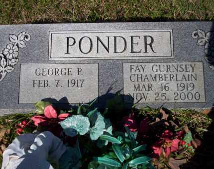PONDER, FAY - Ouachita County, Arkansas | FAY PONDER - Arkansas Gravestone Photos