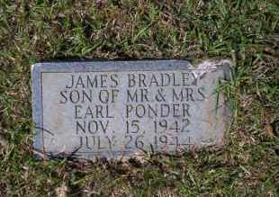 PONDER, JAMES BRADLEY - Ouachita County, Arkansas | JAMES BRADLEY PONDER - Arkansas Gravestone Photos